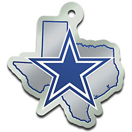 Dallas Cowboys State of Texas Keychain