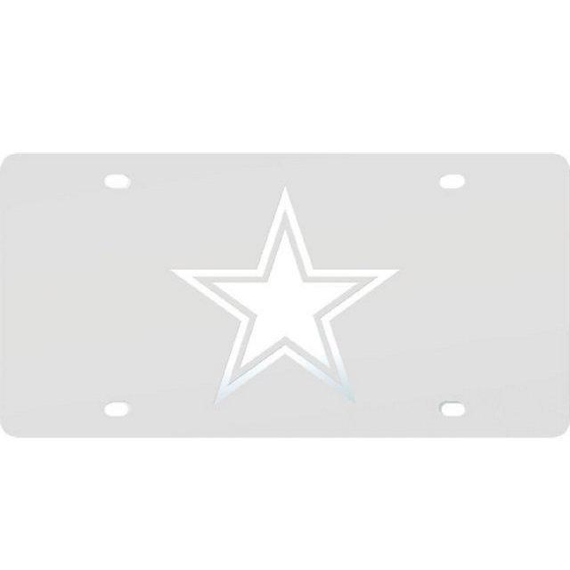 Dallas Cowboys Frost Logo License Plate