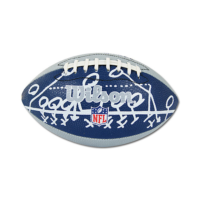 Dallas Cowboys Mini Sewn Rubber Football