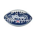 Dallas Cowboys Mini Sewn Rubber Football