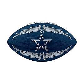 Dallas Cowboys 7 Inch Rubber Football