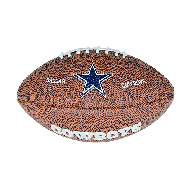 Dallas Cowboys Wilson Mini Soft Touch Football