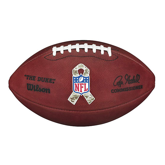 Wilson Salute to Service Camo Game Ball