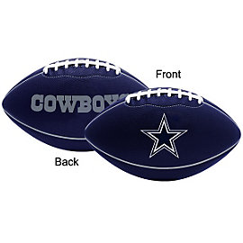 Dallas Cowboys Laminated Pee Wee Football