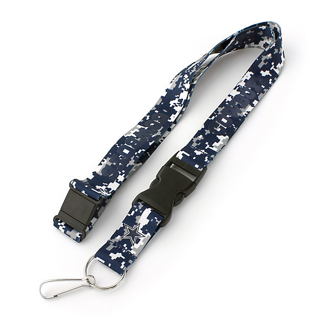 Dallas Cowboys Team Color Digi Military Lanyard