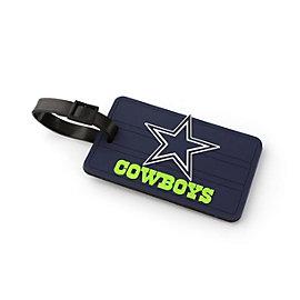 Dallas Cowboys PVC Neon Lettering Luggage Tag