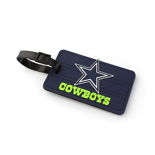 Dallas Cowboys PVC Neon Lettering Luggage Tag