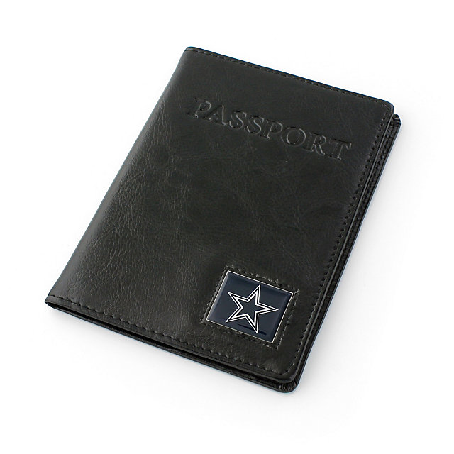 Dallas Cowboys Leather RFID Passport Cover