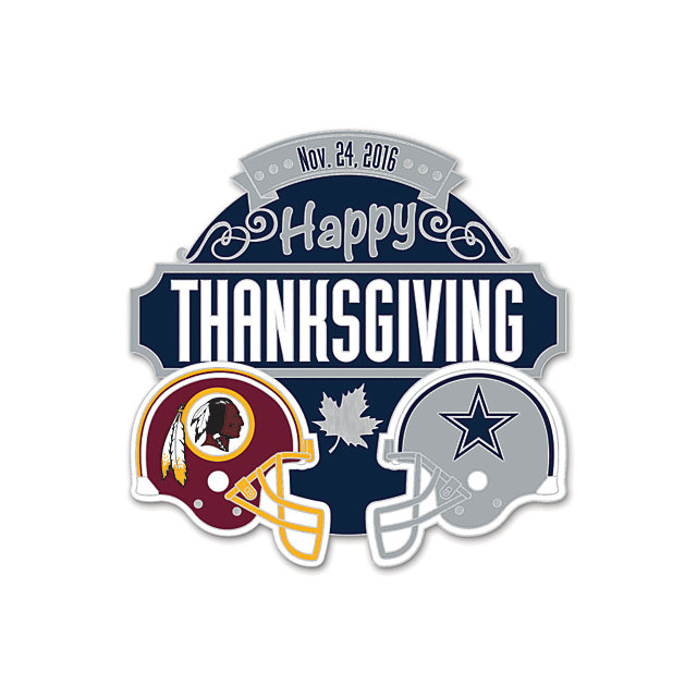 Dallas Cowboys 2016 Thanksgiving Day Lapel Pin