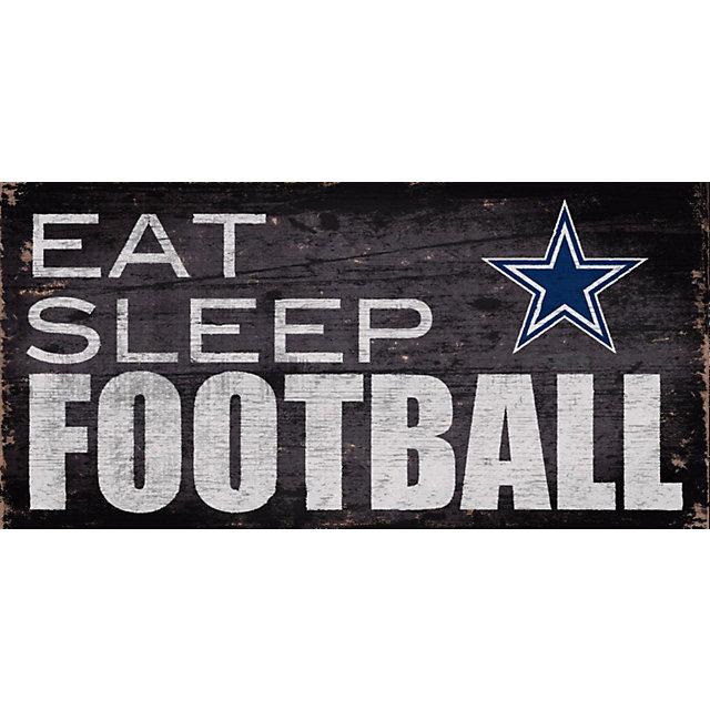 dallas cowboys eat sleep football sign home decor home dallas cowboys home decor cowboys furniture cowboys