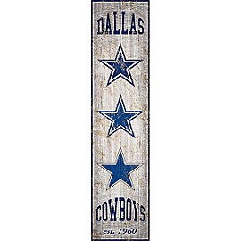 Dallas Cowboys Heritage Banner Sign