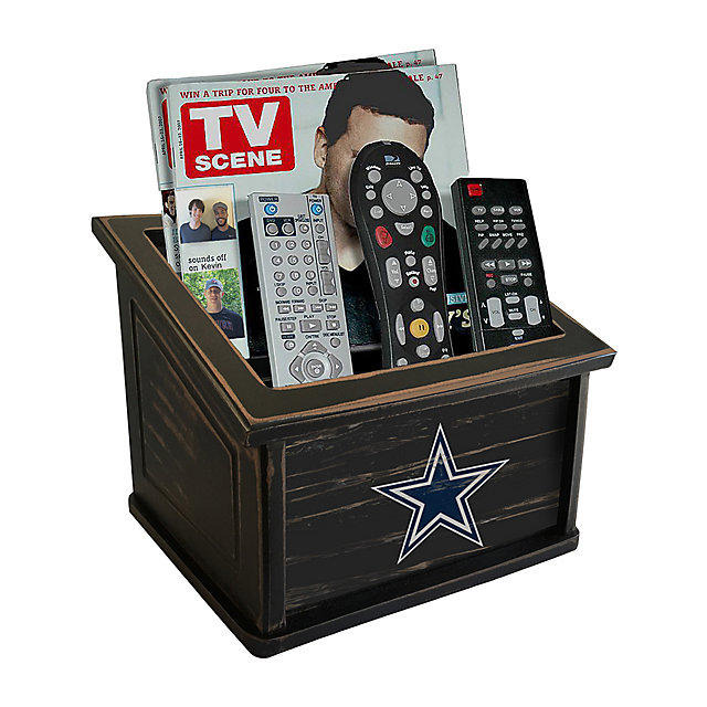 Dallas Cowboys Distressed Media Organizer