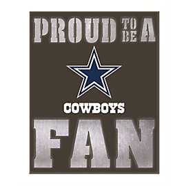 Dallas Cowboys Back Lit Metal Wall Art