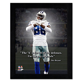 Dallas Cowboys 11 x 14 Dez Bryant Pro Quote Frame