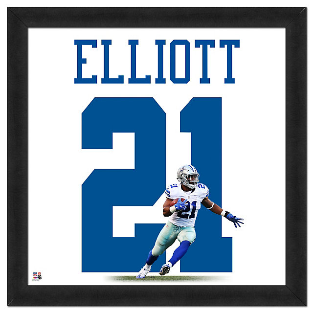 Dallas Cowboys Ezekiel Elliott Uniframe