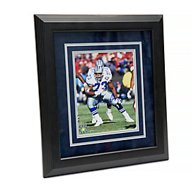 Dallas Cowboys 8x10 Larry Allen Framed Autographed Photo