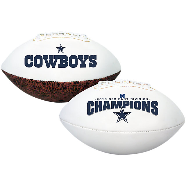 Dallas Cowboys 2016 NFC East Division Champs Full-Size Football