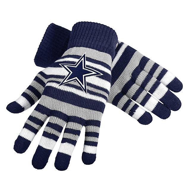 Dallas Cowboys Stretch Gloves