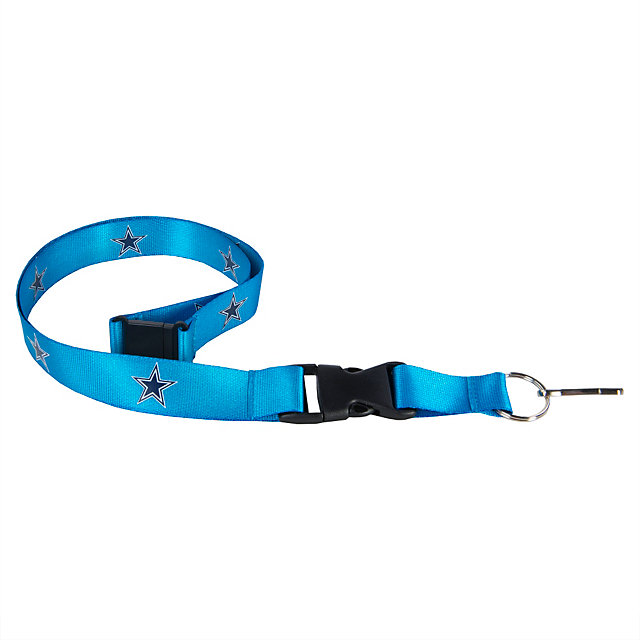Dallas Cowboys Electric Blue Neon Lanyard