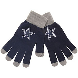 Dallas Cowboys Solid Knit Gloves