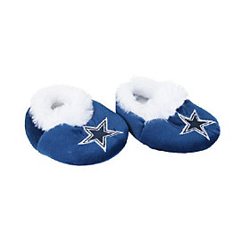 Dallas Cowboys Baby Bootie Slipper