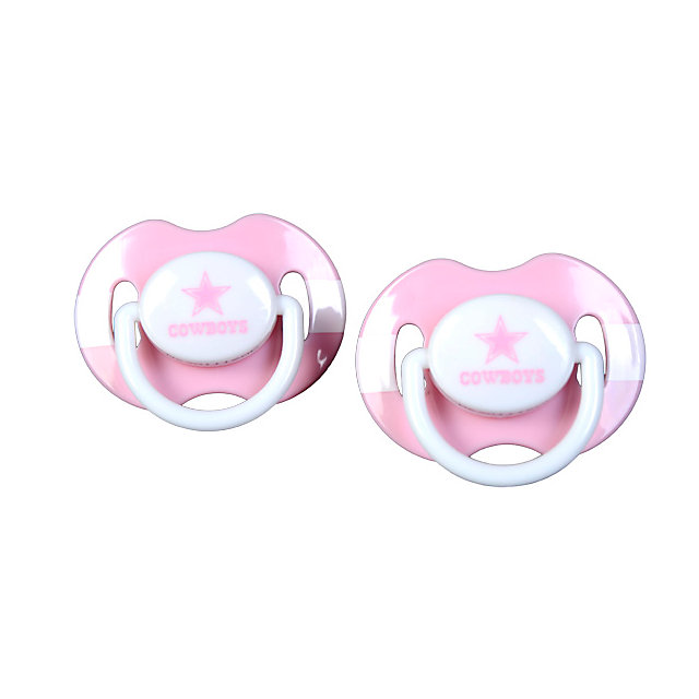 Dallas Cowboys Pink Pacifier 2-Pack