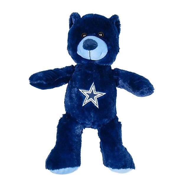 Dallas Cowboys Blue Teddy Bear 14-Inch