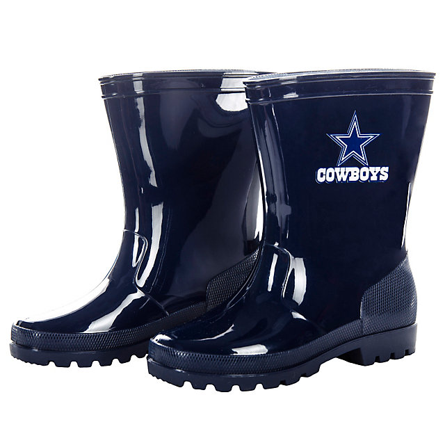 Dallas Cowboys Kids Rain Boots