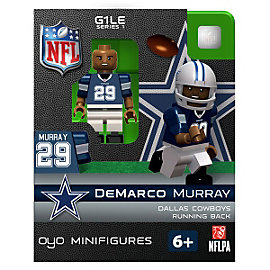 Dallas Cowboys DeMarco Murray OYO Minifigure