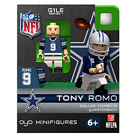 Dallas Cowboys Tony Romo OYO Minifigure