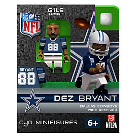 Dallas Cowboys Dez Bryant OYO Minifigure