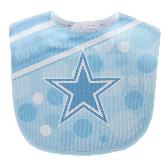 Dallas Cowboys Blue Mesh Polka Dot Bib