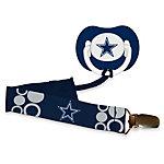 Dallas Cowboys Pacifier and Clip Set