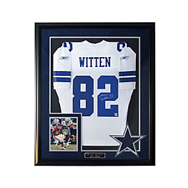 Dallas Cowboys Jason Witten Autograph Jersey Framed