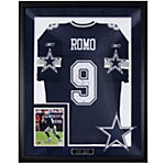 Dallas Cowboys Tony Romo Autograph Framed Away Jersey