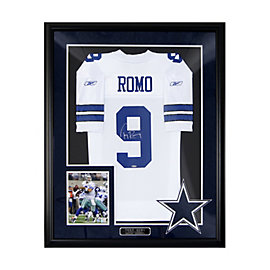 Dallas Cowboys Tony Romo Autograph Home Jersey