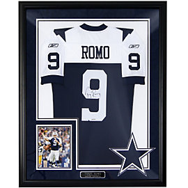Dallas Cowboys Tony Romo Autograph Throwback Jersey
