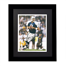 Dallas Cowboys Tony Romo Autographed Framed Photo
