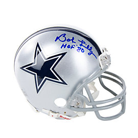 Dallas Cowboys Bob Lilly Autographed Mini Helmet