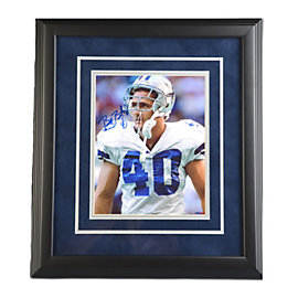 Dallas Cowboys Bill Bates Autograph Framed Photo