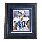 Dallas Cowboys Bill Bates Autograph Framed Photo
