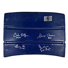 Dallas Cowboys Doomsday Autographed Seatback