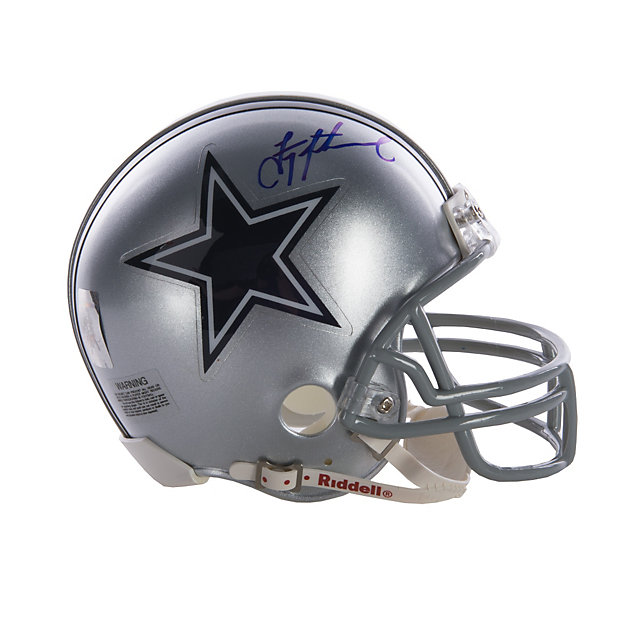 Dallas Cowboys Troy Aikman Autographed Mini Helmet