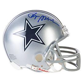 Dallas Cowboys Roger Staubach Autographed Mini Helmet