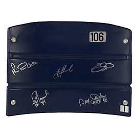 Dallas Cowboys Triplets, Johnston, Novacek Autographed Seat Back