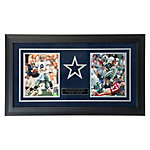 Dallas Cowboys Aikman & Smith Autographed Framed Photos