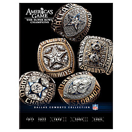 Dallas Cowboys 5-Disc DVD Set - Americas Game - The Super Bowl Champions