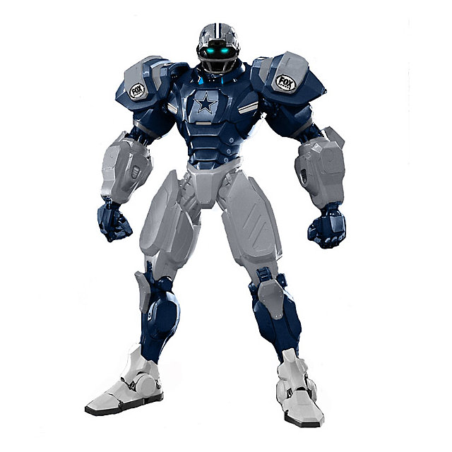 Dallas Cowboys Team Robot