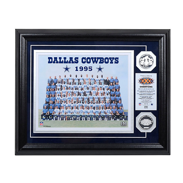 Dallas Cowboys 1995 Super Bowl Championship Team Photo Mint