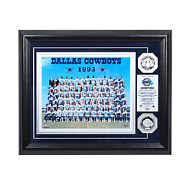 Dallas Cowboys 1993 Super Bowl Championship Team Photo Mint